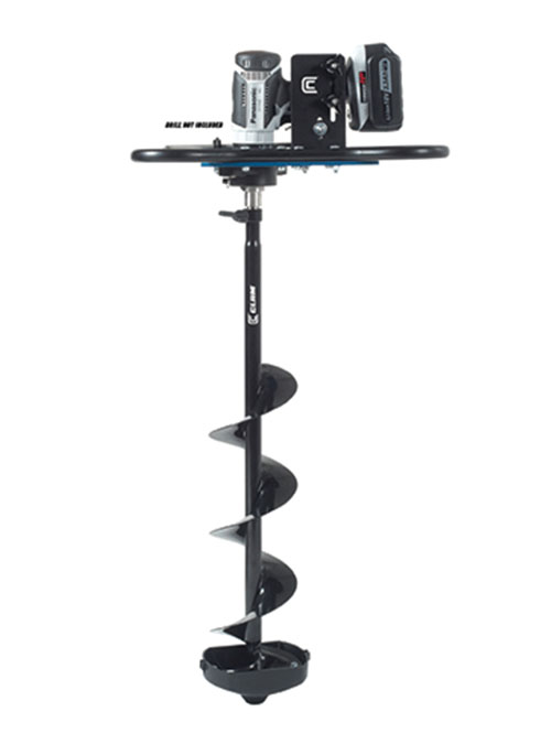 Clam Ice Auger Conversion Kit Combo