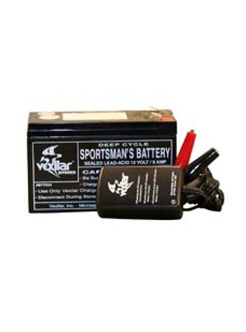Vexilar Battery and Charger