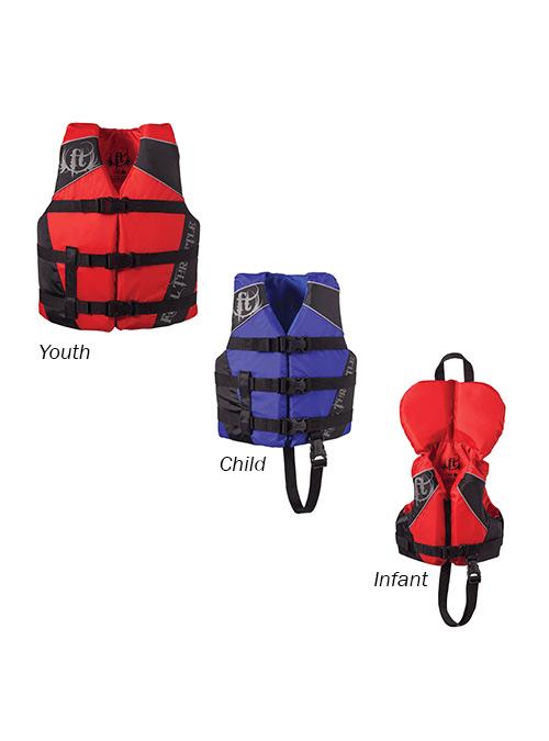 Full Throttle Kids Nylon Water Sports Vest