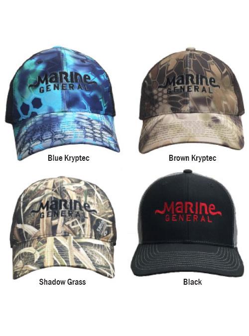 Marine General Logo Trucker Hat