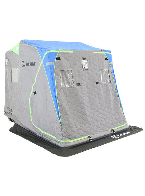 Clam Voyager X Thermal Ice Team Edition (New Corner Entry Doors)