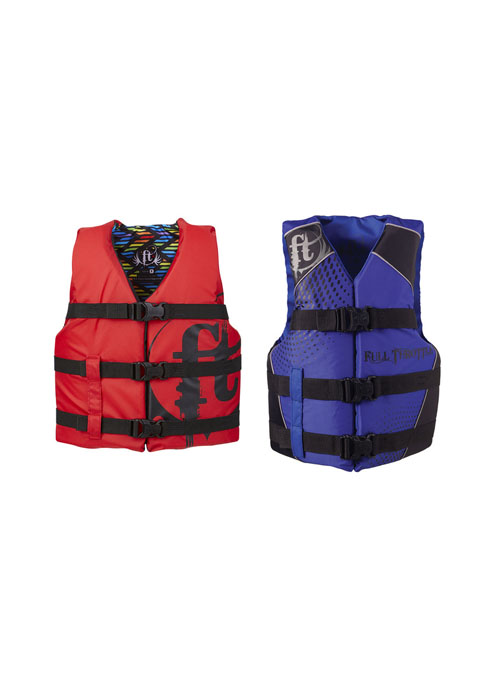 Full Throttle Teen Nylon Water Sports Vest