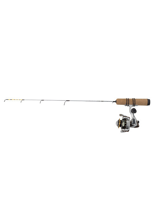Clam and Jason Mitchell Ice Rods, Reels, & Combos