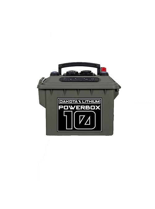 Dakota Lithium 12v 10Ah Powerbox