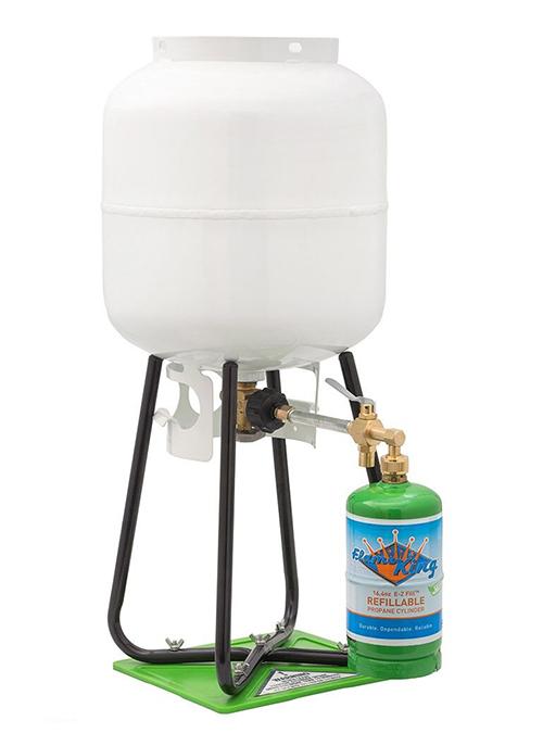 Flame King Refillable 1-lb Propane Cylinder Kit - Marine ...
