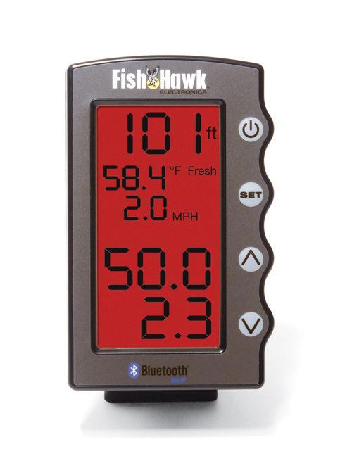 Fish Hawk Bluetooth Display with Mount