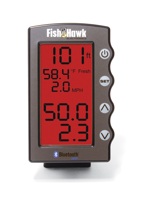 Fish Hawk Bluetooth Display with Mount