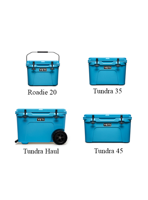 Yeti Reef Blue Coolers