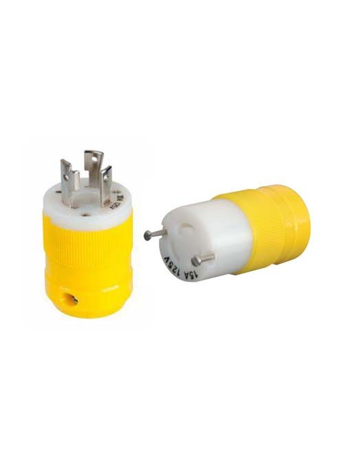 Marinco 15Amp Plug and Adapter