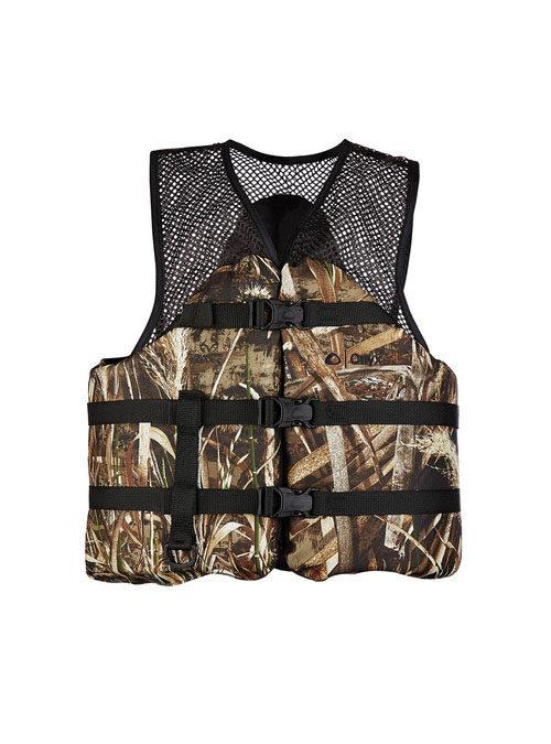 Onyx Camo Mesh Classic Sport Vest