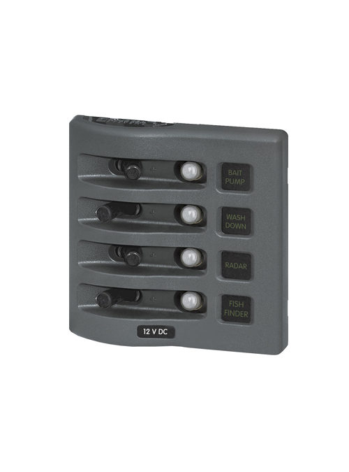 Blue Sea LED Switch Panel