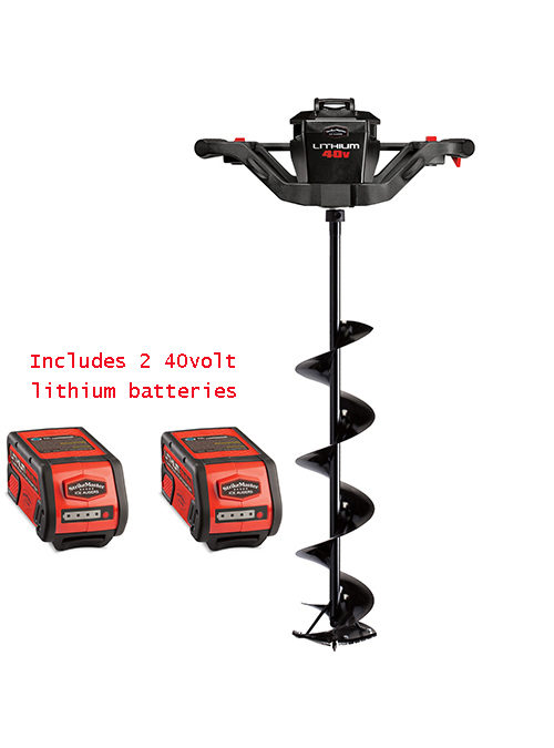 StrikeMaster Lithium 40V Ice Auger with 2nd Battery