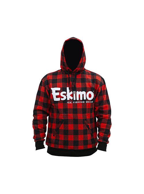 Eskimo Buffalo Plaid Cotton Hoodie
