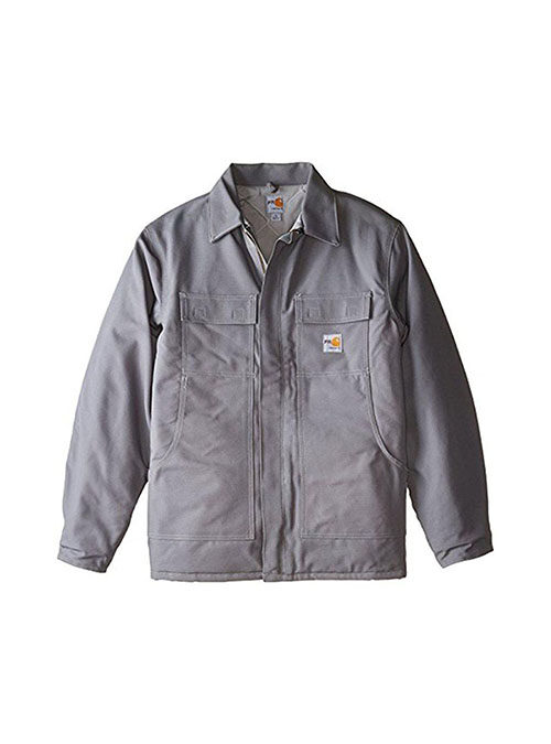 Carhartt FR Duck Traditional Coat Quilt Lined