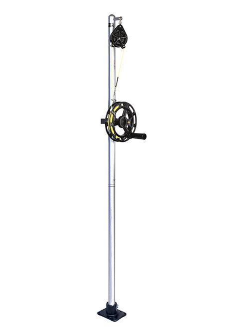 Big Jon Single Manual Planer Mast