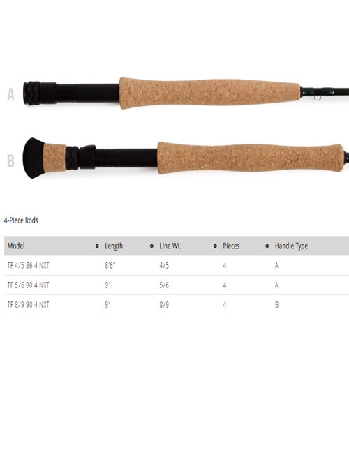 Temple Fork Outfitters NXT Fly Rod