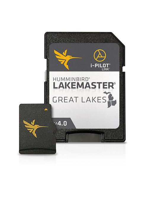 Lakemaster Great Lakes Map Card