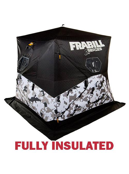 Frabill Bro Insulated Hub Ice Fishing House