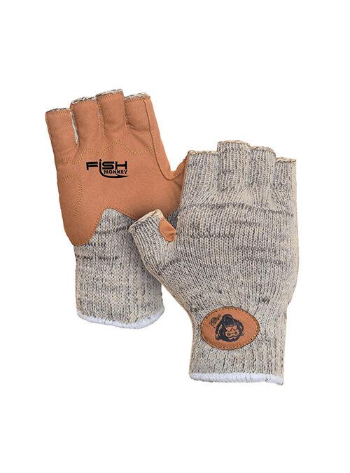 Fish Monkey Wolly Half Finger Glove