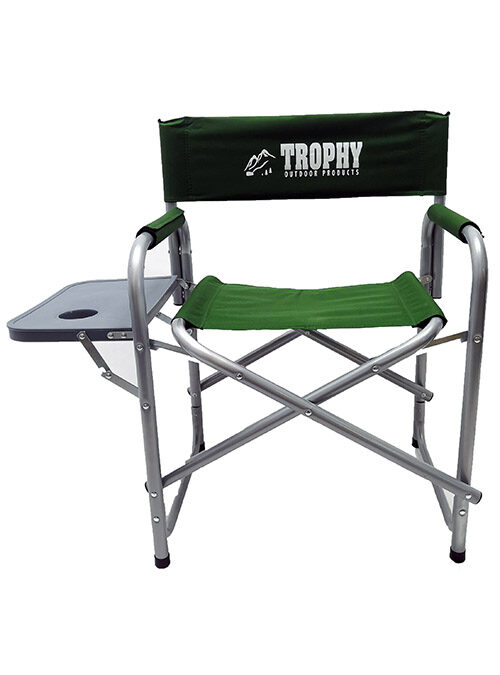 Trophy Angler Directors Chair with Side Table