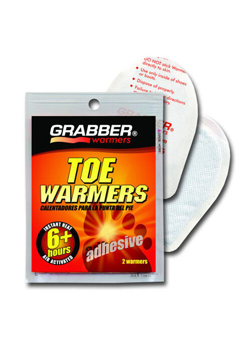 Grabber Adhesive Toe Warmer