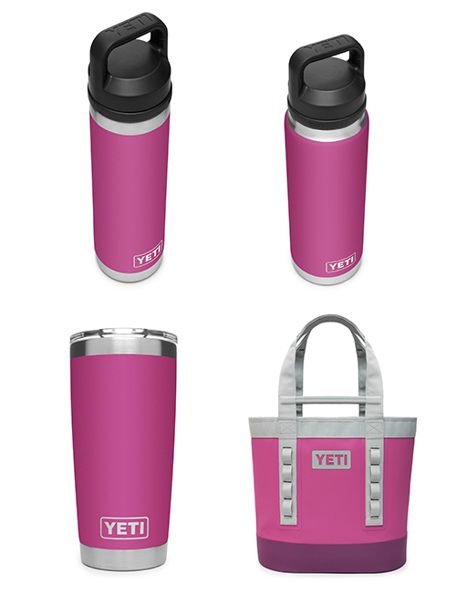 """Yeti Exclusive Color """"Prickly Pear Pink"""""""