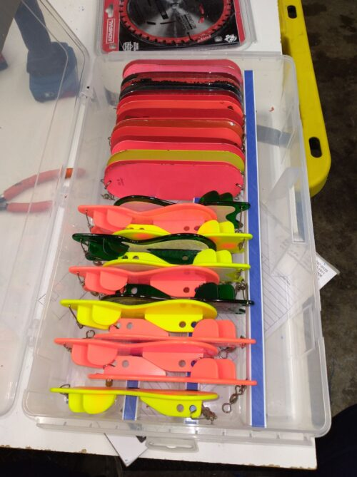 Flasher Baby (Coho) Tender Tackle Box