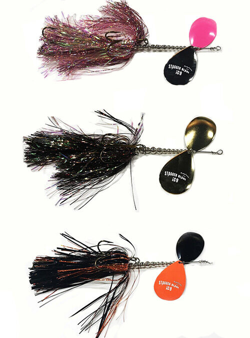 Musky Frenzy Stagger Blade Bucktail
