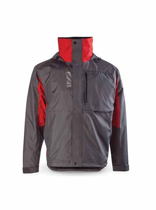 Rapala Rain Jacket Grey Red