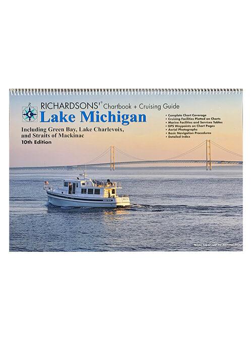 Richardson's Lake Michigan Chartbook & Cruising Guide 10th Edition